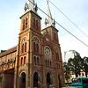 "<a href=""http://en.wikipedia.org/wiki/Saigon_Notre-Dame_Basilica"">Notre Dame Basilica</a> in Saigon."