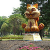 This is the Year of the Cat in Vietnam, and these cat statues are everywhere.