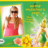 tinkerbell valentine's day cards