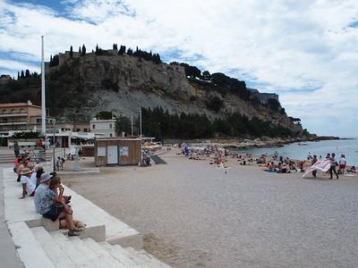 Main beach, Cassis
