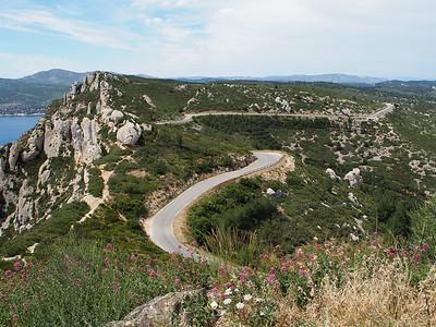 Route des Cretes, Cassis