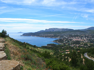 Cassis from Route des Cretes