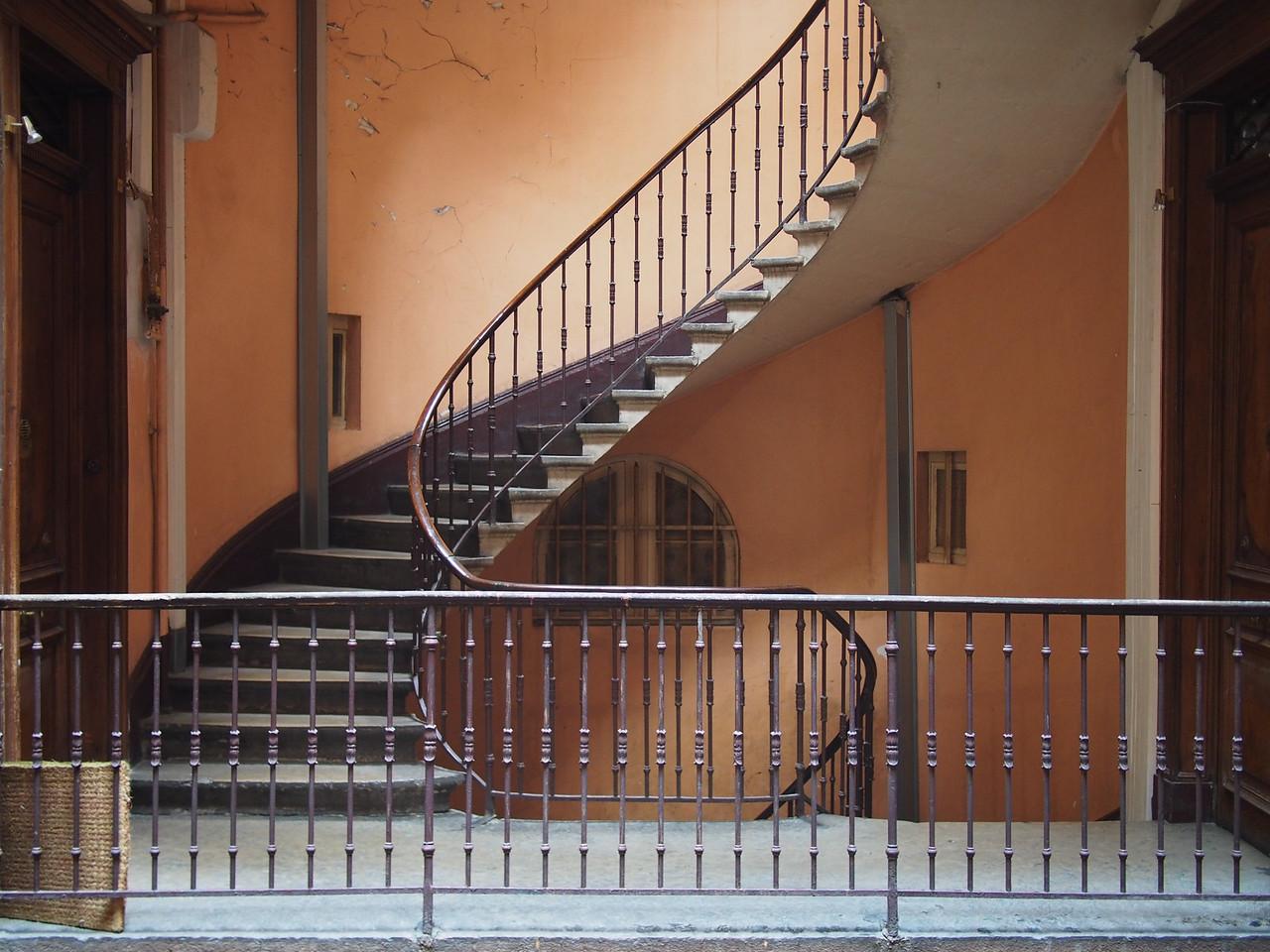 Stairwell, 46 rue de Brest, Lyon