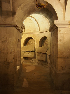 Apt Cathedral - Upper crypt from 11th century