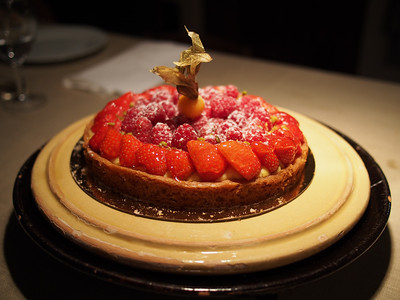 Berry gateau