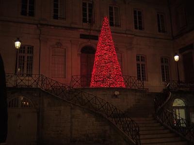 Christmas lights, Prefecture, Apt