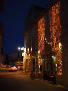Christmas lights, Cabrieres d'Avignon