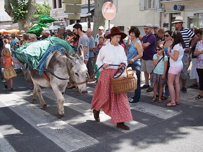Fête de la transhumance à Saint-Rémy-de-Provence.