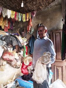 Fabric dyers, Medina, Fez