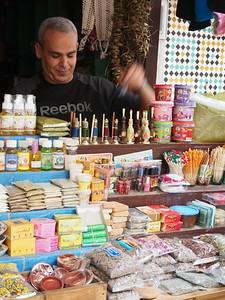 Shopping for amber and sandalwood, Medina, Fez