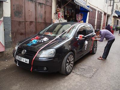 Wedding car, Fez, Morocco