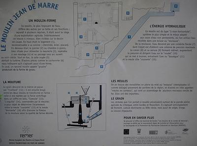 Water mills in the Gorges de Veroncle