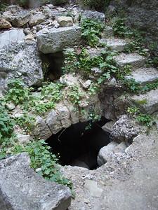 Down to basement water wheel