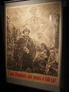 It's all the fault of the British. Musée d'Histoire 1939-1945, Fontaine de Vaucluse