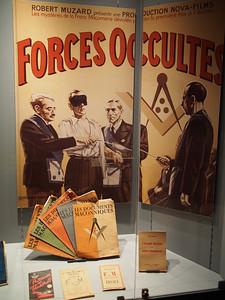 Vichy France against Freemasons. Musée d'Histoire 1939-1945, Fontaine de Vaucluse