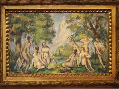 Paul Cezanne, Les Baigneuses, 1895