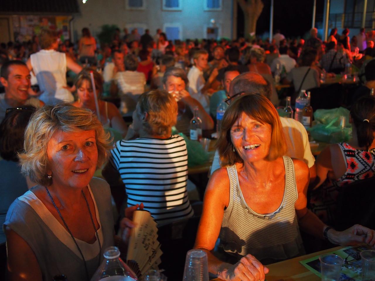 Pistou evening in Lagnes