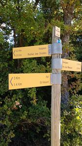 Rocher des Druides walk Oct 16