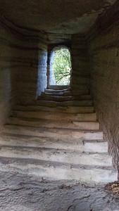 Rocher des Druides walk Oct 16 - Salle de Rupestre
