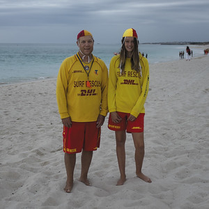 9:26am, Surf Life Savers
