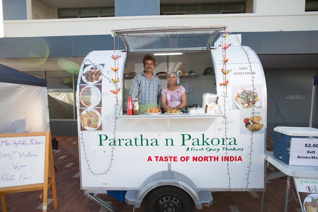 Paratha n Pakora