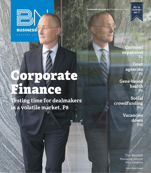 #2 - Tim Woodall - Corporate Finance