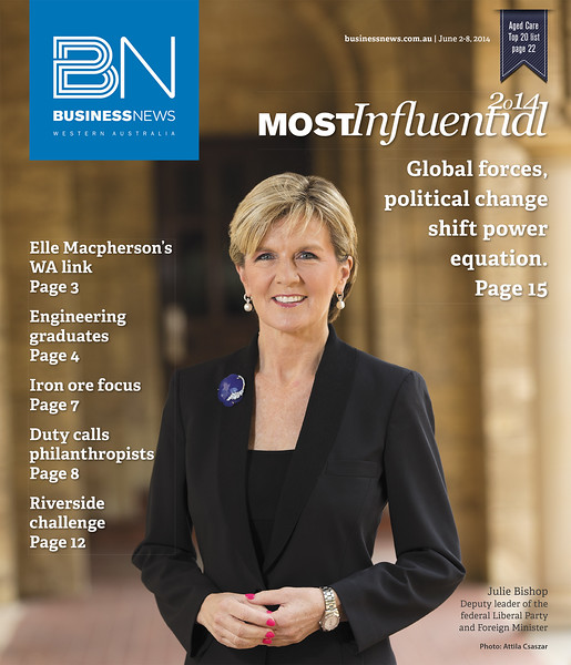 #7 - Julie Bishop - Most influential