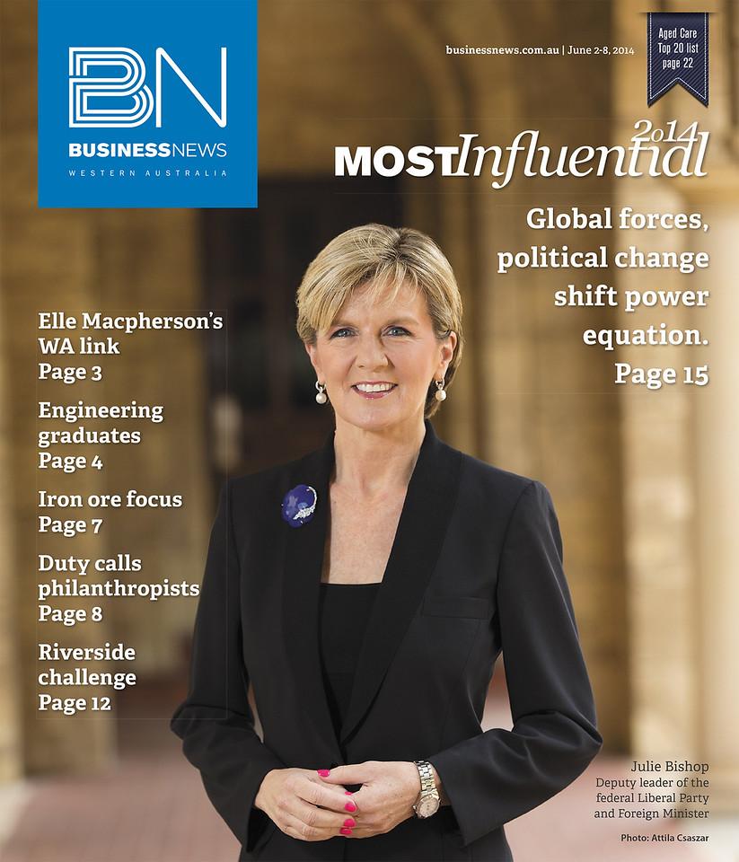 #7 - Julie Bishop - Most influential