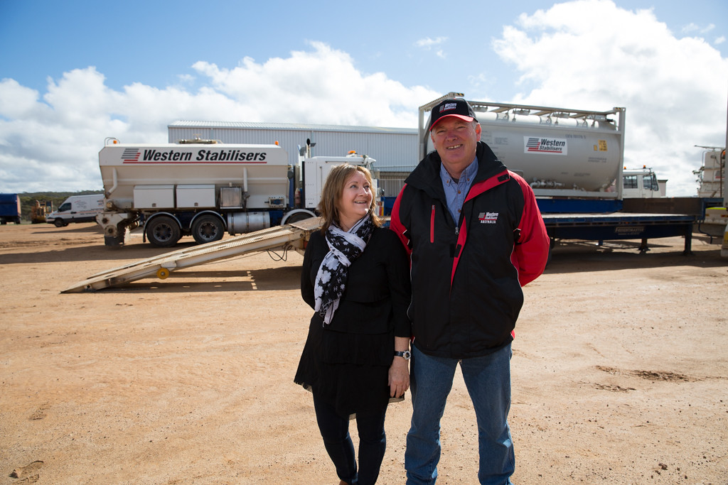 Jill and Philip Robbins - Western Stabilisers, Corrigin