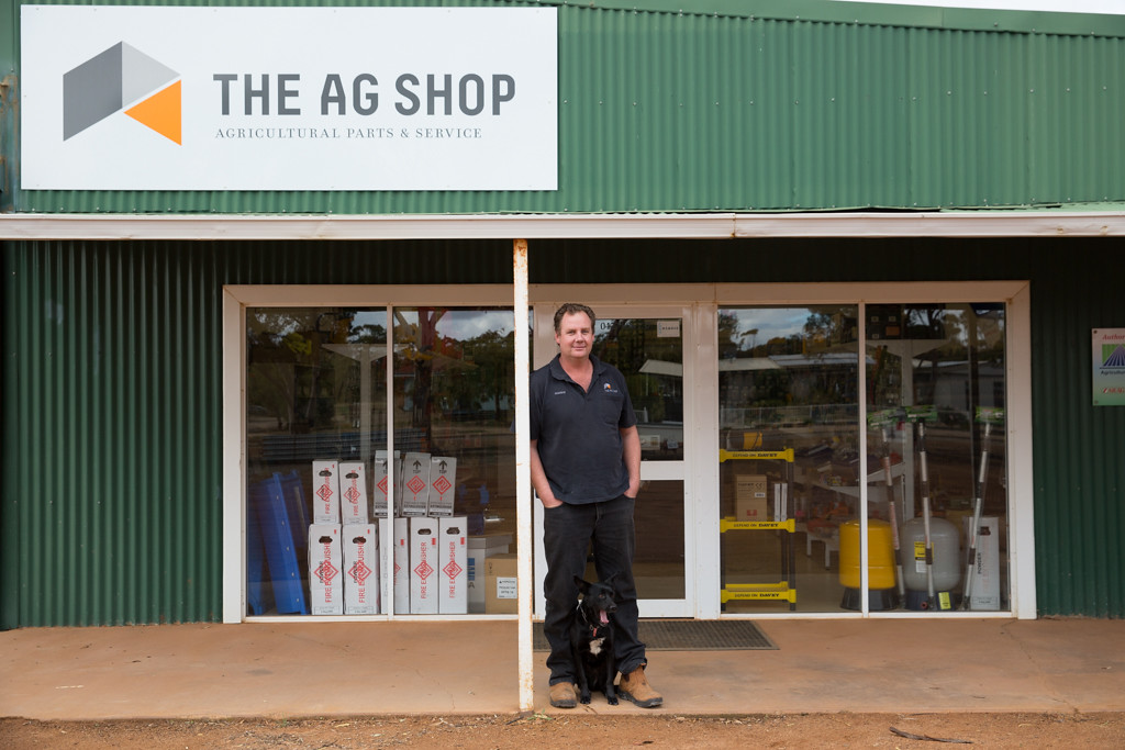 Andrew Meade - The AgShop, Hyden
