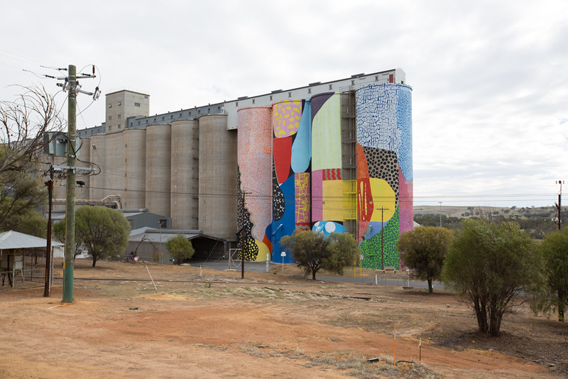Silos in Northam