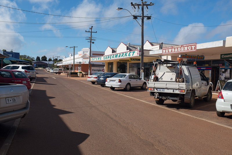 Street view in Corrigin
