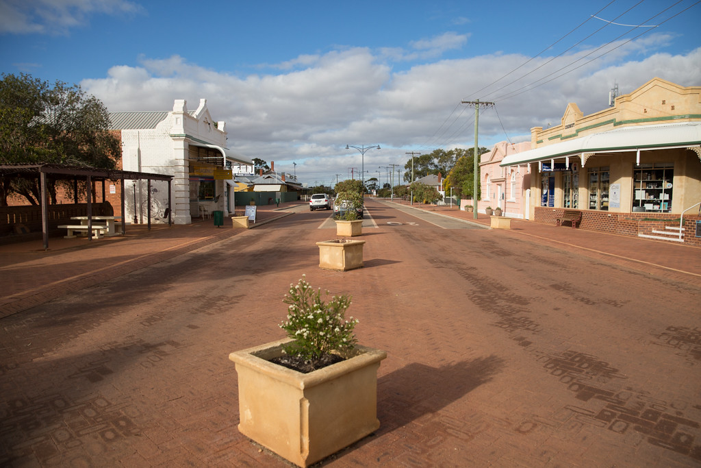 Street view in Narembeen