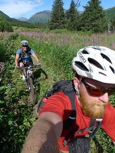 Johnson Pass Trail selfie.