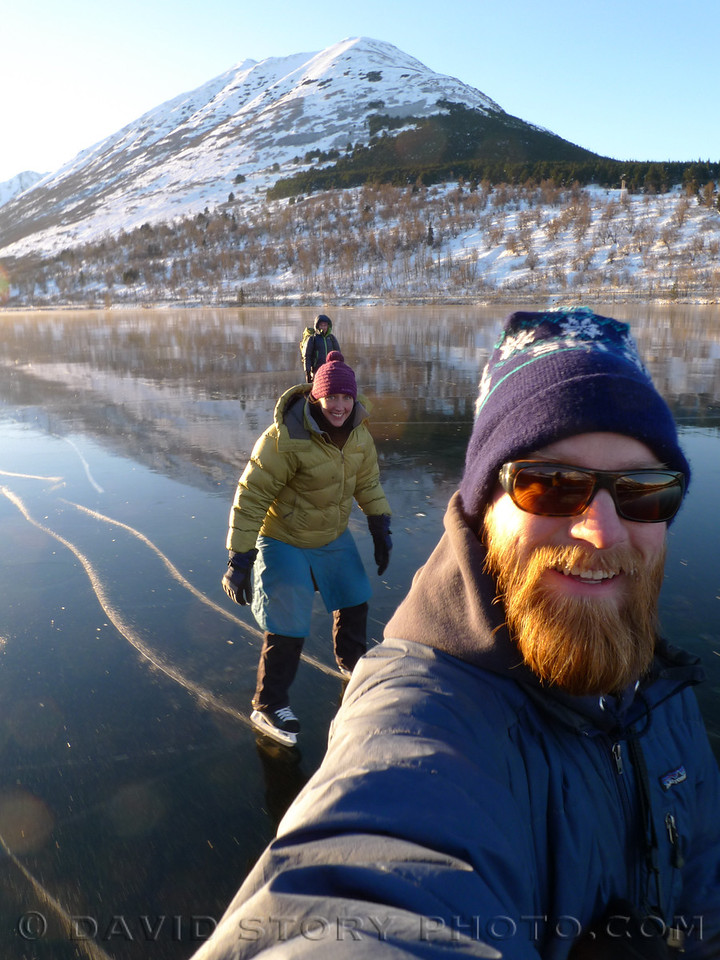 A rare treat on a glassy Summit Lake.