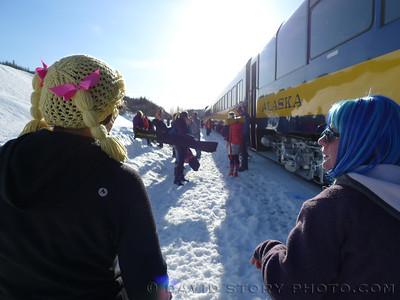 Ski Train 2016: Wear a wig.