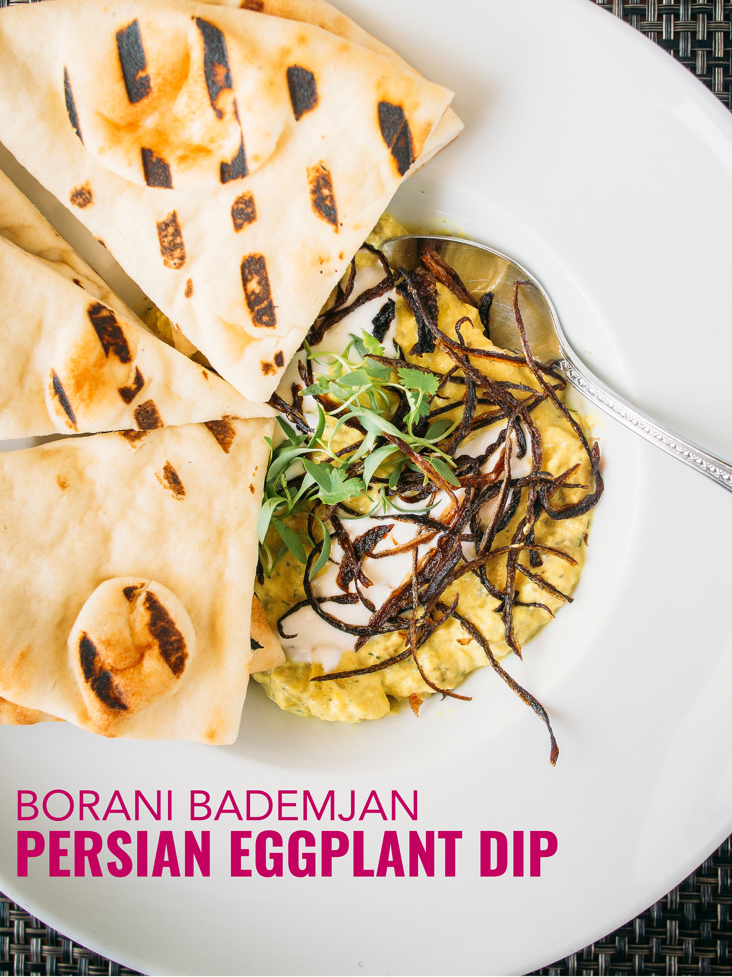 Easy persian eggplant dip borani bademjan bacon is magic this persian eggplant dip with yogurt is known as borani bademjan it is so easy forumfinder Image collections