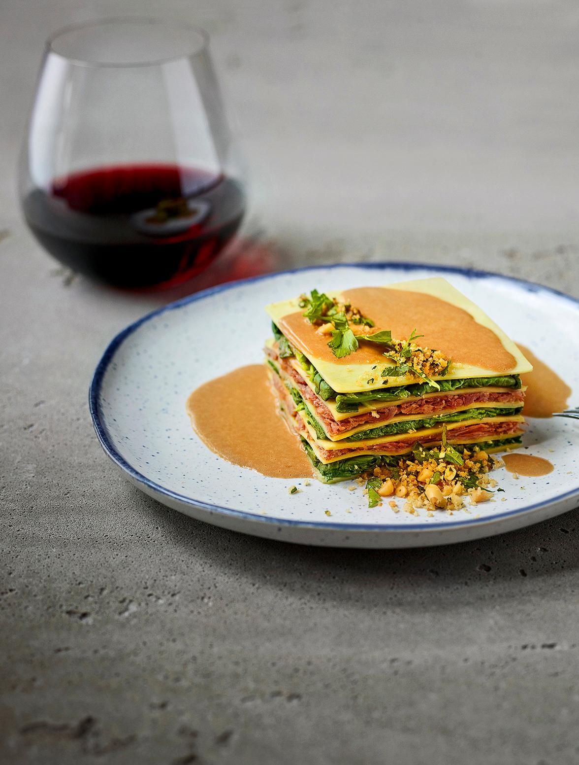 Chef Daniel Vezina's menu for new Air Transat food service program