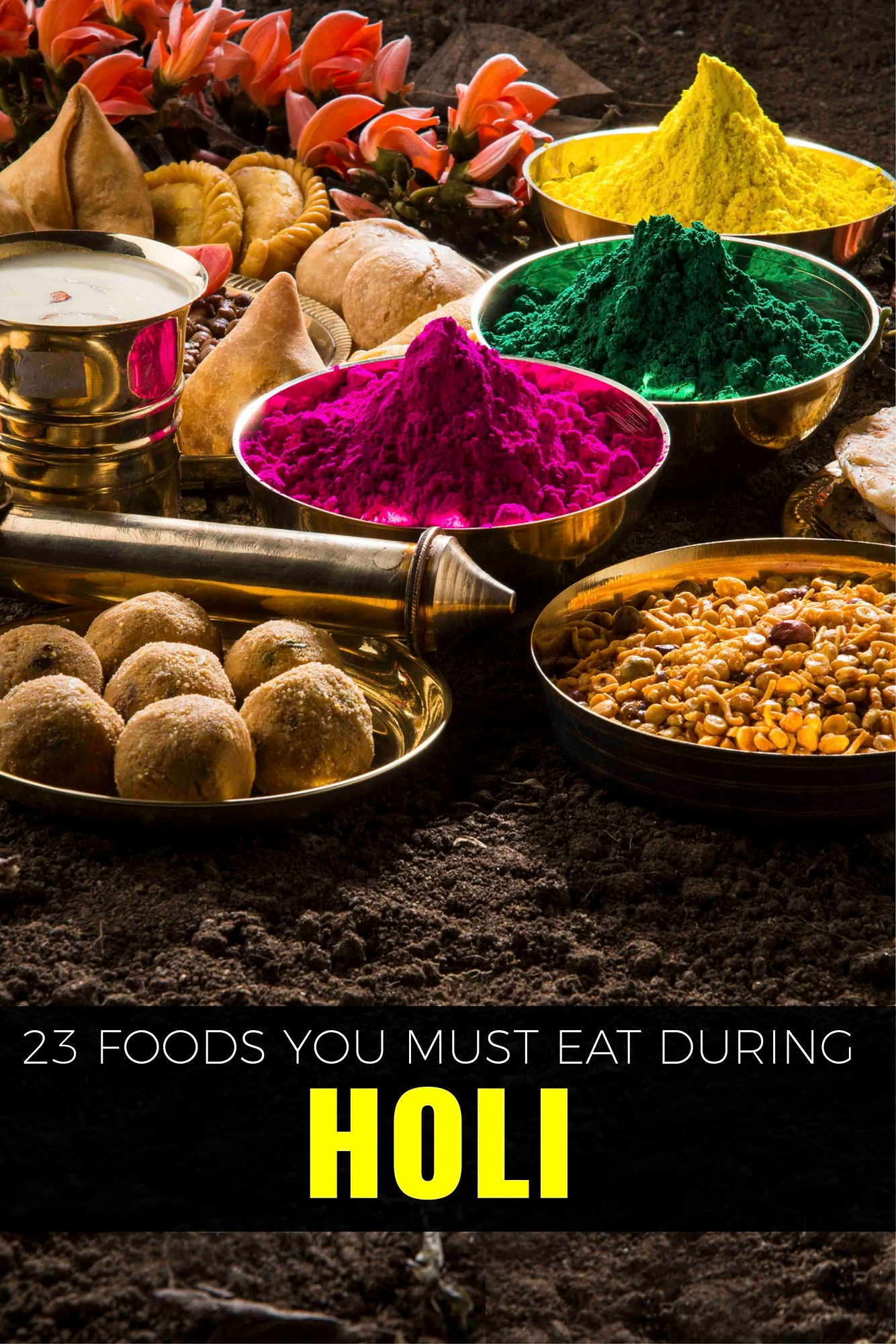 Holi isn't just a festival of colour. You don't want to miss this Holi food - one of the best parts of the celebration.