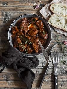 Chianti beef stew