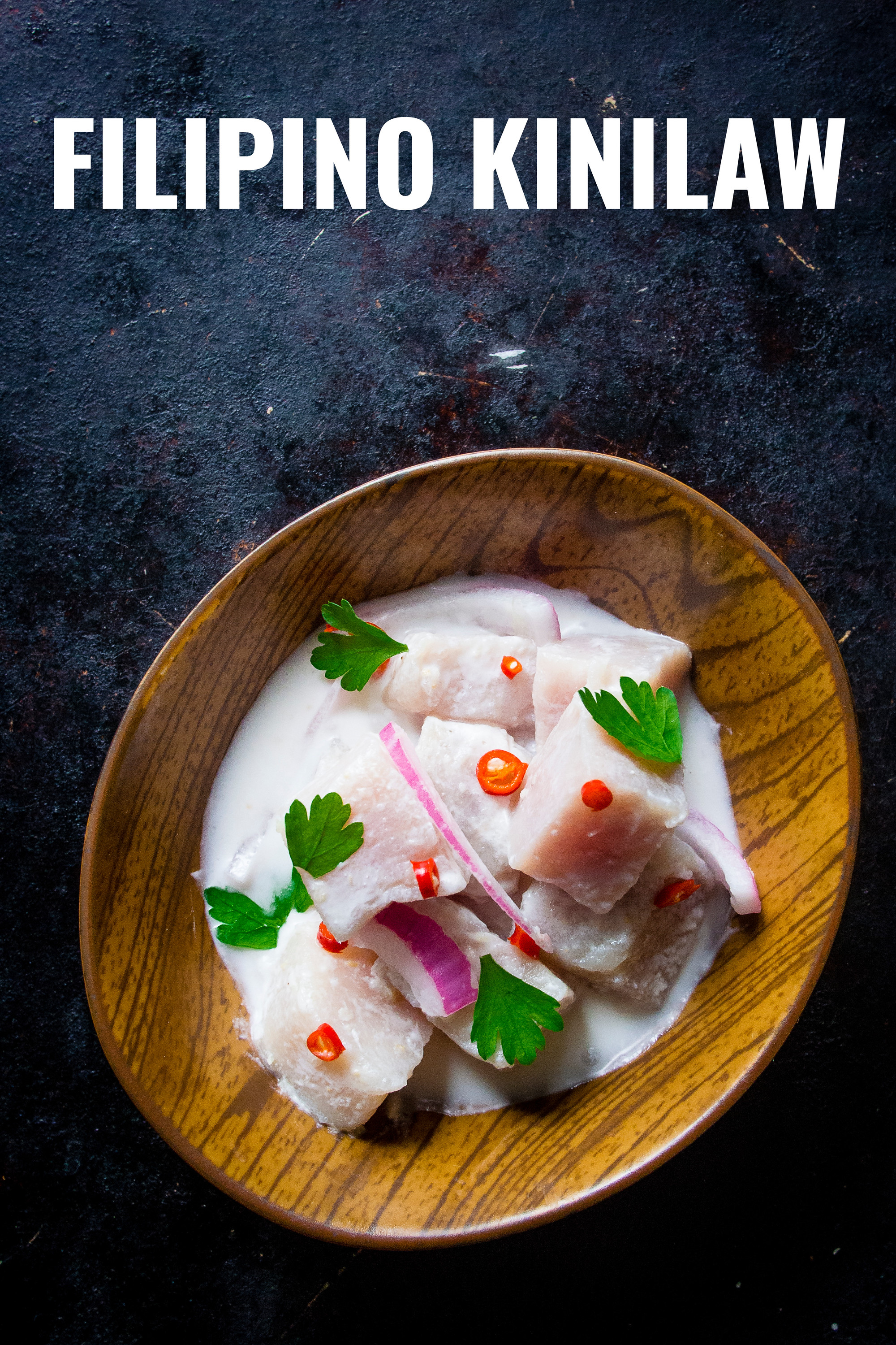 Easy Filipino kinilaw recipe, perfect If you like ceviche and poke with only 5 ingredients.