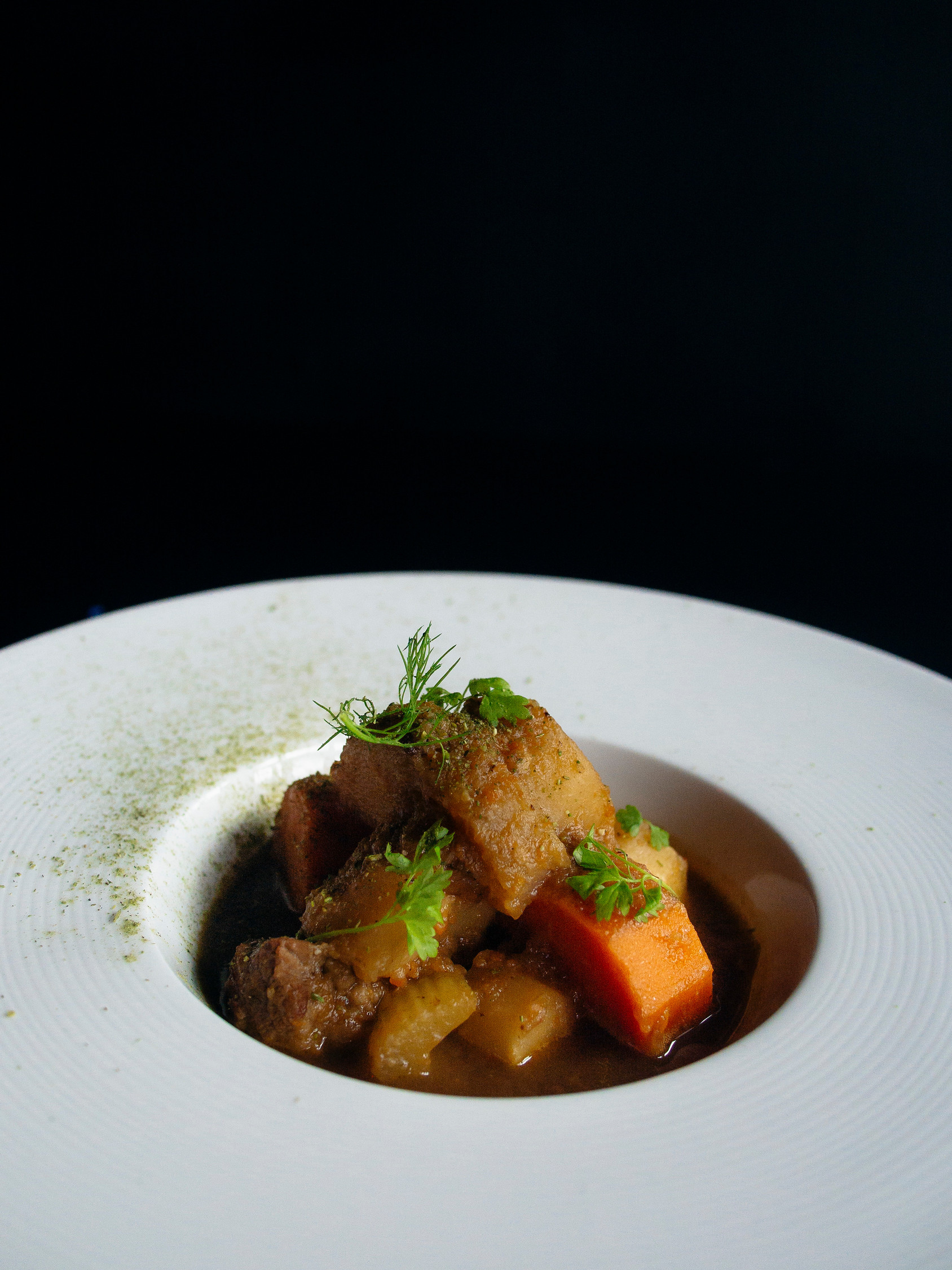 Beef Irish stew is one of the Dublin food you'll want to try.