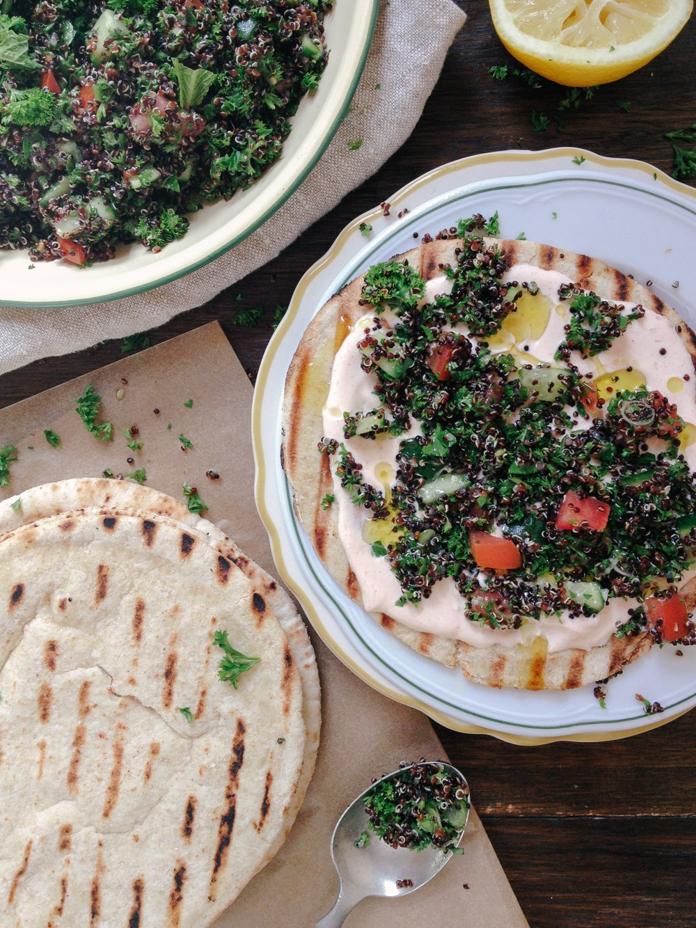 Tabbouleh just one Jerusalem food you need to try. Don't miss the 25 others in Jerusalem.