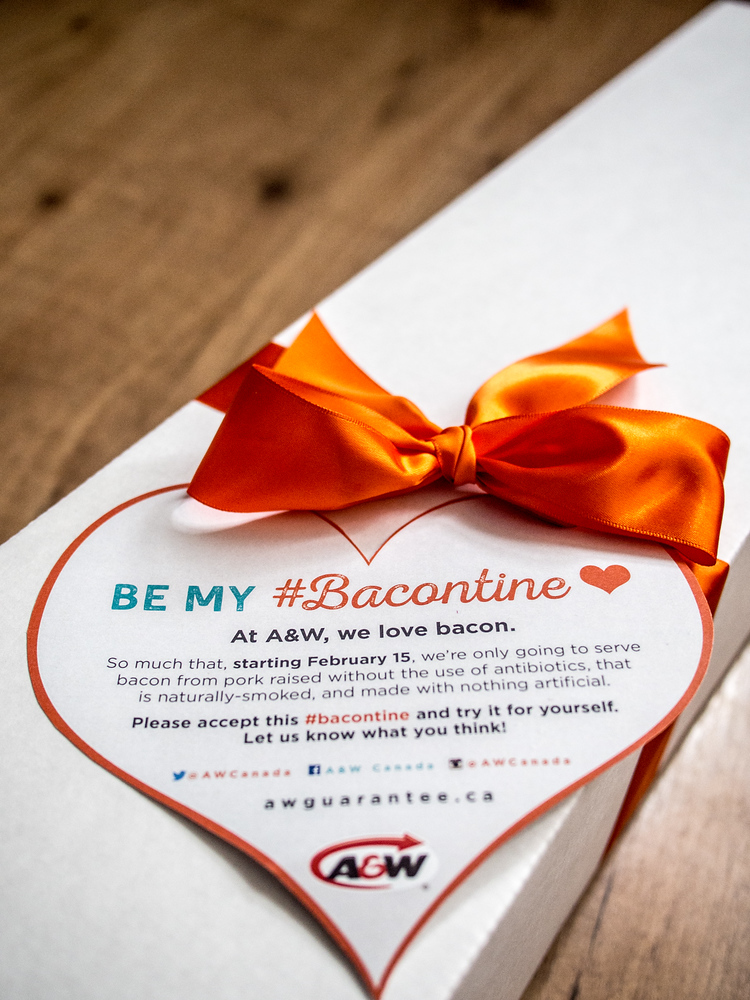 Bacontine's Day
