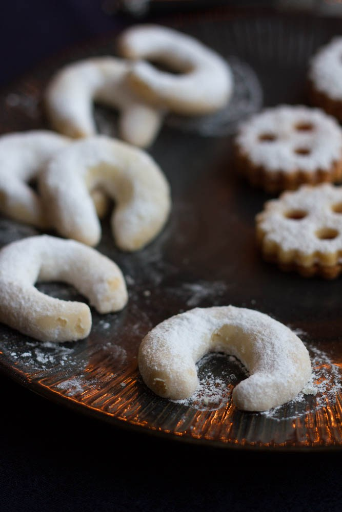 Vanillekipferl are crescent cookies from Austria and one of the best Christmas cookies from around the world, check out the others.