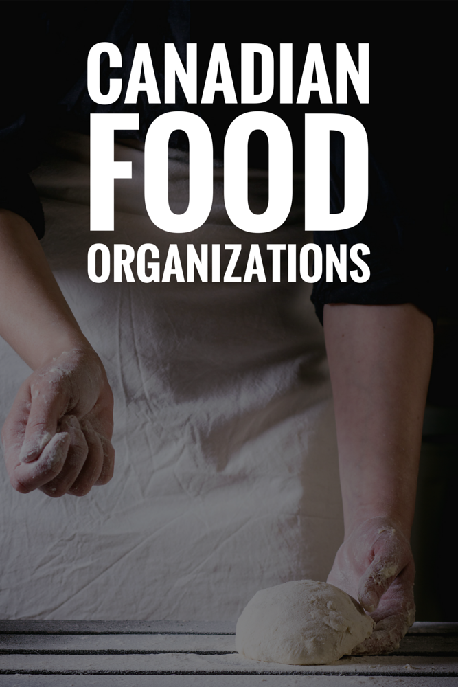 Looking for a list of great Canadian food organizations? Here is a list of Canadian charities, non-profits and organizations dedicated to food security and food education.
