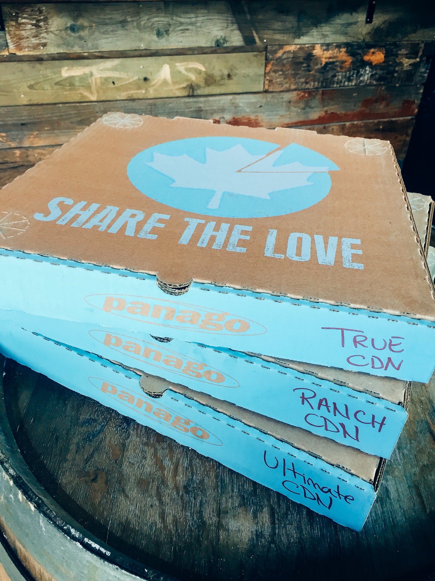 Panago Pizza, Share the Love
