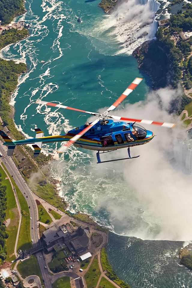 See Niagara Falls by Helicopter, just one of 27 things to do in Niagara, Canada. Check out the rest!