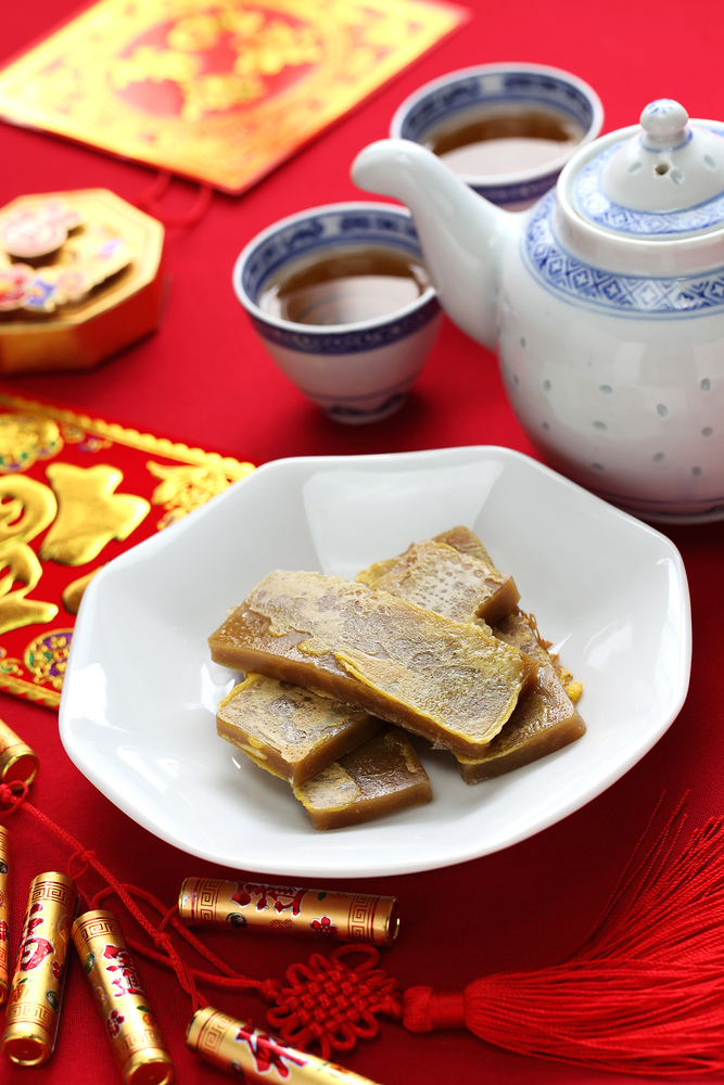 Chinese New Year Food: Nian Gao also known as Chinese New Year cake are popular to eat during these celebrations. Discover the other 22 foods that you can't miss during Chinese New Year.