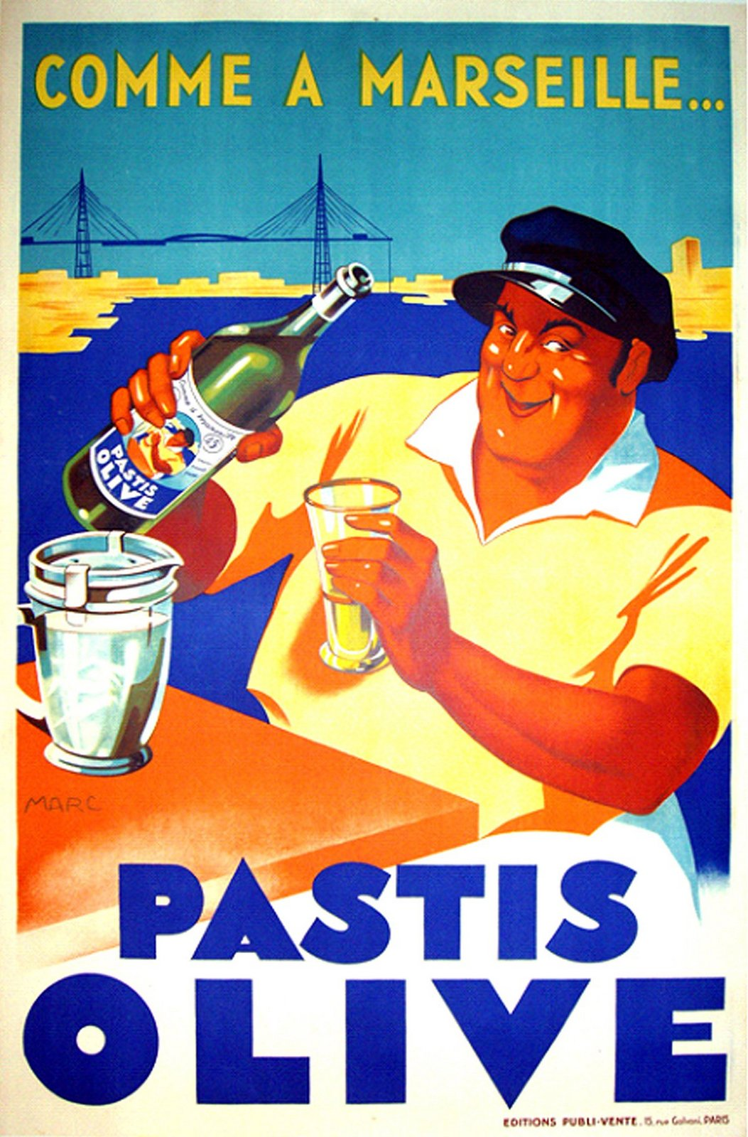 Pastis, the aperitif. Discover what to eat in Marseille, the oldest city in France and with culinary influences from Italy, Spain and North Spain.